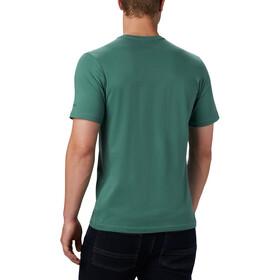 Columbia Path Lake Graphic T-Shirt Herren thyme green round bound